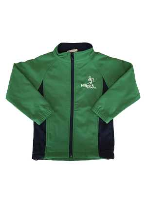 Hillpark Primary School Softshell Jacket Emerald/Navy