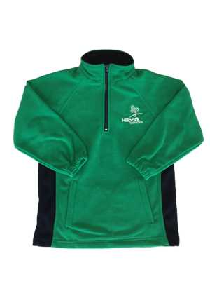 Hillpark Primary School Half Zip Polar Fleece